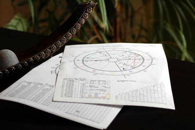 占星術のホロスコープチャートを無料で作ってみた(01占星学を習い始めたよ)