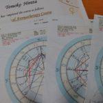 アロマ占星術修了証